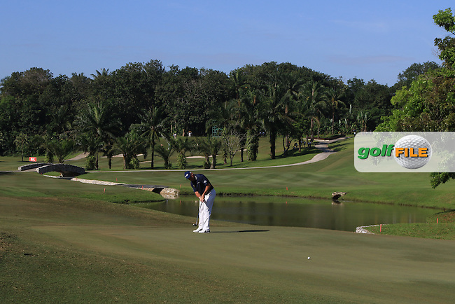 Lee Westwood (ENG) on the 4th fairway during Round 4 of the Maybank Championship on Sunday 12th February 2017.<br /> Picture:  Thos Caffrey / Golffile<br /> <br /> All photo usage must carry mandatory copyright credit     (&copy; Golffile | Thos Caffrey)