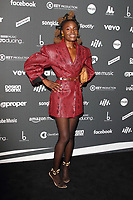 Red carpet arrivals board for the AIM Independent Music Awards 2019 held at the Roundhouse, Camden, London on September 3rd 2019<br /> <br /> Photo by Keith Mayhew