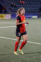 Rochester, NY - Saturday May 21, 2016: Western New York Flash forward Lynn Williams (9). The Western New York Flash defeated Sky Blue FC 5-2 during a regular season National Women's Soccer League (NWSL) match at Sahlen's Stadium.