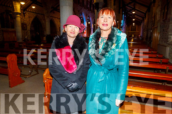 Claire and Connie McCormack attending the Kerry Choral Union's O'Holy Night concert in St John's Church on Sunday.