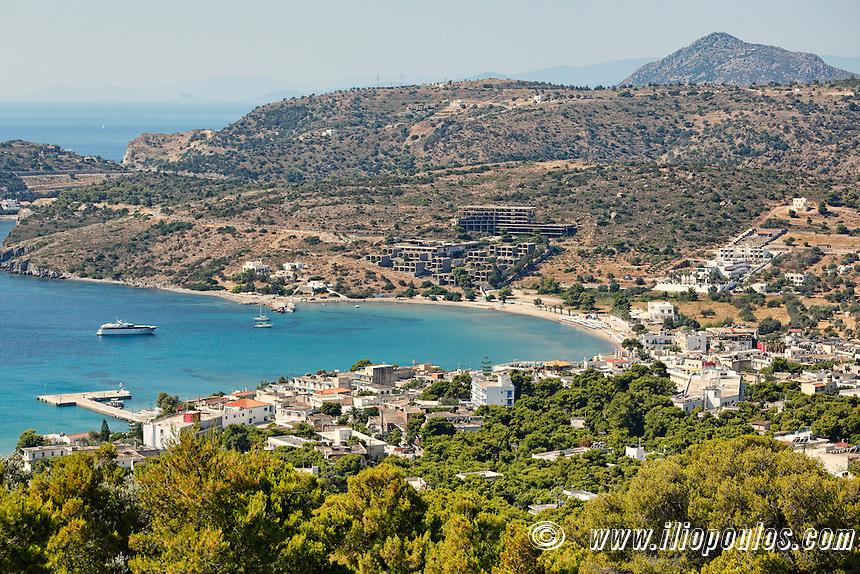 Agia Marina in Aegina island, Greece