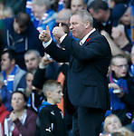 Ally McCoist delighted with the team play leading to Nicky Law's goal
