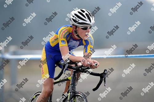 2012-04-03 / Wielrennen / seizoen 2012 / PK Tijdrijden Antwerpen / Van Bragt Daan..Foto: Mpics.be