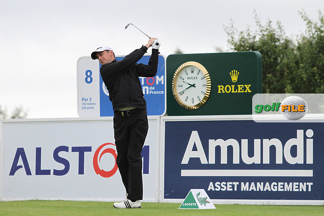 Peter Lawrie (IRL) on Day 3 of the Alstom Open de France at Golf National,  Saint-Quentin-En-Yvelines, Paris, France, 7/7/12...(Photo Jenny Matthews/www.golffile.ie)
