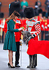 "KATE'S PRESENTS SHAMROCKS TO IRISH GUARDS.The Duchess of Cambridge presented shamrocks to members of 1 Irish Guards at Mons Barracks in Aldershot to mark the occasion of St Patricks Day_17/03/2012.Mandatory Credit Photo: ©NEWSPIX INTERNATIONAL..**ALL FEES PAYABLE TO: ""NEWSPIX INTERNATIONAL""**..IMMEDIATE CONFIRMATION OF USAGE REQUIRED:.Newspix International, 31 Chinnery Hill, Bishop's Stortford, ENGLAND CM23 3PS.Tel:+441279 324672  ; Fax: +441279656877.Mobile:  07775681153.e-mail: info@newspixinternational.co.uk"