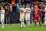 09.10.2019, Signal Iduna Park, Dortmund, GER, FSP, LS, Deutschland (GER) vs Argentinien (ARG)<br /> <br /> DFB REGULATIONS PROHIBIT ANY USE OF PHOTOGRAPHS AS IMAGE SEQUENCES AND/OR QUASI-VIDEO.<br /> <br /> im Bild / picture shows<br /> <br /> enttäuscht / enttaeuscht / traurig / Unentschieden<br /> Gestik, Mimik,<br /> <br /> Emre Can (Deutschland / GER #23)<br /> Robin Koch (Deutschland / GER #04)<br /> Marc-André ter Stegen (Deutschland / GER #22)<br /> während Freundschaftsspiel  Deutschland gegen Argentinien   in Dortmund  am 09.10..2019,<br /> <br /> Foto © nordphoto / Kokenge
