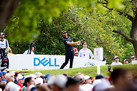 Dustin Johnson (USA) on the 12th during the 3rd round at the WGC Dell Technologies Matchplay championship, Austin Country Club, Austin, Texas, USA. 24/03/2017.<br /> Picture: Golffile | Fran Caffrey<br /> <br /> <br /> All photo usage must carry mandatory copyright credit (&copy; Golffile | Fran Caffrey)