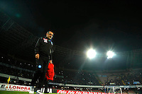 Maurizio Sarri  during the  italian serie a soccer match,between SSC Napoli and Inter      at  the San  Paolo   stadium in Naples  Italy , December 02, 2016
