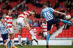 Doncaster Rovers v Coventry City, 23.4.2016<br /> Sky Bet League One<br /> Picture Shaun Flannery/Trevor Smith Photography<br /> Andy Williams scores Rovers 2nd goal.