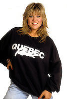 FILE PHOTO (Exact date unknown) -  Samantha Fox<br /> <br /> <br /> in the eighties<br /> <br /> PHOTO : Harold Beaulieu -  Agence Quebec Presse