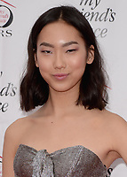 HOLLYWOOD, CA - APRIL 8:  Madison Hu at the My Friend's Place 30th Anniversary Gala at the Hollywood Palladium on April 8, 2018 in Hollywood, California. (Photo by Scott KirklandPictureGroup)