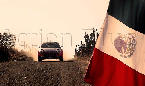 06.03.2016. Leon, Mexico. WRC Rally of Mexico, final stage.  Hayden Paddon (NZL) – John Kennard (NZL) - Hyundai i20 WRC