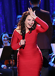 Fran Drescher performing in The American Pops Orchestra '75 Years of Streisand'  at the George Washington University Lisner Auditorium on January 13, 2017 in New York City.