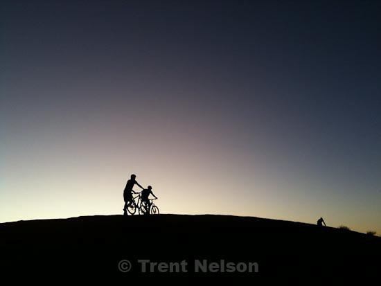 . Saturday, October 17 2009.slickrock mountain bike trail