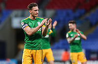 Preston North End's Ben Davies applauds his side's travelling supporters at the end of the match <br /> <br /> Photographer Andrew Kearns/CameraSport<br /> <br /> The EFL Sky Bet Championship - Bolton Wanderers v Preston North End - Saturday 9th February 2019 - University of Bolton Stadium - Bolton<br /> <br /> World Copyright © 2019 CameraSport. All rights reserved. 43 Linden Ave. Countesthorpe. Leicester. England. LE8 5PG - Tel: +44 (0) 116 277 4147 - admin@camerasport.com - www.camerasport.com
