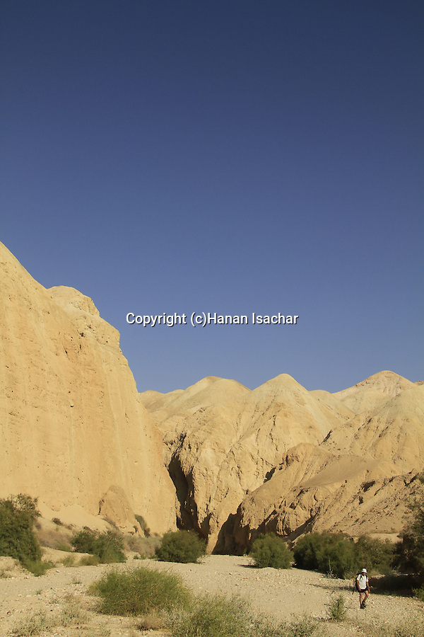 Judean desert, Wadi Og in the Dead Sea valley