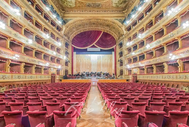 Europe, Italy, Sicily, Palermo, Teatro Massimo