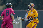 Los Angeles, CA 02/15/14 - Peter Doyle (Stanford #8) and Nick Hillier (Arizona State #11)