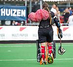 HUIZEN  -   Robin van den Ende (HUI)  , hoofdklasse competitiewedstrijd hockey dames, Huizen-Groningen (1-1)   COPYRIGHT  KOEN SUYK