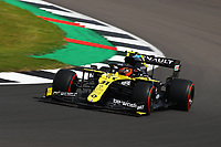1st August 2020, Silverstone, Northampton, UK; FIA Formula One World Championship 2020, Grand Prix of Great Britain,  qualifying;  31 Esteban Ocon FRA, Renault DP World F1 Team