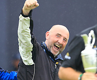 A proud Brendan Lowry after son Shane Lowry (IRL) wins the Championship by 6 shots at the end of Sunday's Final Round of the 148th Open Championship, Royal Portrush Golf Club, Portrush, County Antrim, Northern Ireland. 21/07/2019.<br /> Picture Eoin Clarke / Golffile.ie<br /> <br /> All photo usage must carry mandatory copyright credit (© Golffile | Eoin Clarke)