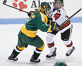 Shelby Nisbet (Clarkson - 13), Stephanie Gavronsky (Northeastern - 44) - The Northeastern University Huskies defeated the visiting Clarkson University Golden Knights 5-2 on Thursday, January 5, 2012, at Matthews Arena in Boston, Massachusetts.