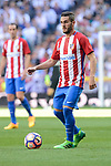 Atletico de Madrid's Koke Resurrecci&oacute;n during La Liga match between Real Madrid and Atletico de Madrid at Santiago Bernabeu Stadium in Madrid, April 08, 2017. Spain.<br /> (ALTERPHOTOS/BorjaB.Hojas)
