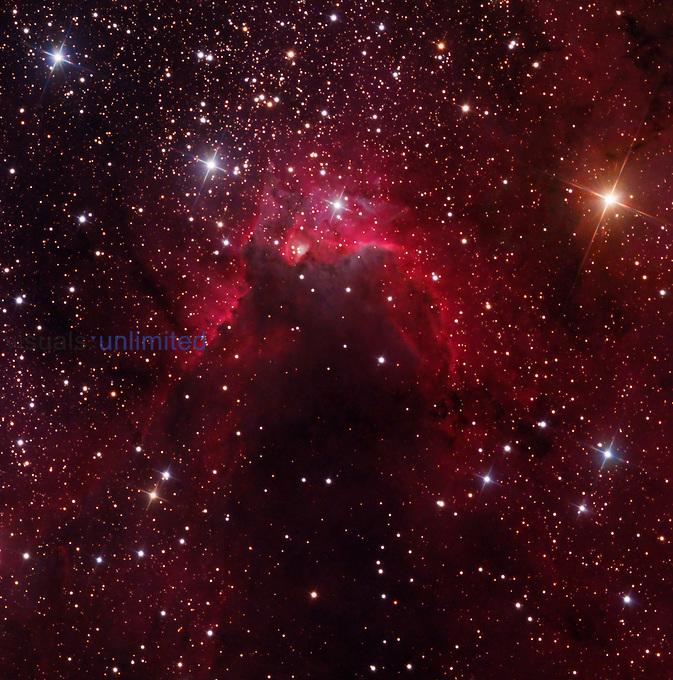 Sh2-155, The Cave Nebula