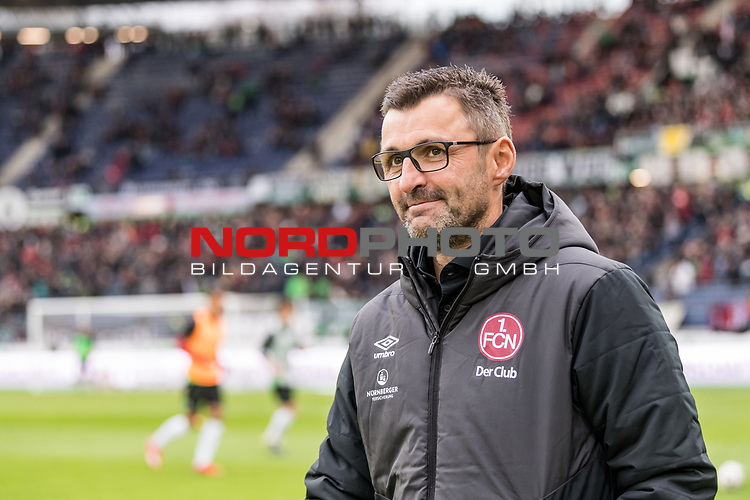 09.02.2019, HDI Arena, Hannover, GER, 1.FBL, Hannover 96 vs 1. FC Nuernberg<br /> <br /> DFL REGULATIONS PROHIBIT ANY USE OF PHOTOGRAPHS AS IMAGE SEQUENCES AND/OR QUASI-VIDEO.<br /> <br /> im Bild / picture shows<br /> Michael Köllner / Koellner (Trainer 1. FC Nuernberg), <br /> <br /> Foto © nordphoto / Ewert