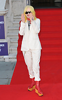 "LONDON, ENGLAND - AUGUST 08: Pam Hogg at the ""Pain and Glory"" Film4 Summer Screen opening gala & launch party, Somerset House, The Strand, on Thursday 08 August 2019 in London, England, UK.<br /> CAP/CAN<br /> ©CAN/Capital Pictures"