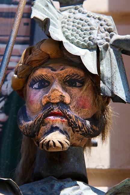 Sicilian puppet head Cefalu [Cefaú] Sicily