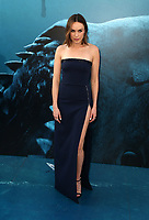 HOLLYWOOD, CA - August 6: Jessica McNamee, at Warner Bros. Pictures And Gravity Pictures' Premiere Of &quot;The Meg&quot; at TCL Chinese Theatre IMAX in Hollywood, California on August 6, 2018. <br /> CAP/MPI/FS<br /> &copy;FS/MPI/Capital Pictures