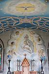 Fresco in Italian Chapel on Lamb; Holm in the Orkney Islands; Scotland