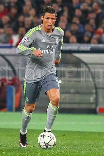 17.02.2016. Stadio Olimpico, Rome, Italy. UEFA Champions League, Round of 16 - first leg AS Roma versus Real Madrid. CRISTIANO RONALDO DOS SANTOS IN ACTION