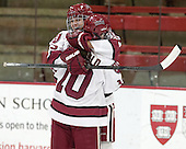 Dylanne Crugnale (Harvard - 23), Gina McDonald (Harvard - 10) - The Harvard University Crimson defeated the visiting Boston University Terriers 3-1 on Friday, November 22, 2013, at Bright-Landry Hockey Center in Cambridge, Massachusetts.