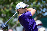 Austin Ernst (USA) watches her tee shot on 10 during round 1 of  the Volunteers of America Texas Shootout Presented by JTBC, at the Las Colinas Country Club in Irving, Texas, USA. 4/27/2017.<br /> Picture: Golffile | Ken Murray<br /> <br /> <br /> All photo usage must carry mandatory copyright credit (&copy; Golffile | Ken Murray)