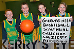Gneeveguilla Basketball club are holding a scrap metal fund-raiser on December 3rd at Dillane's Garage from 8am -2pm. .L-R Brian Brosnan, Padraig Dillane, Aileen O'Halloran and Maura Amy O'Connor.