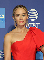 PALM SPRINGS, CA - JANUARY 3: Emily Blunt, at the 2019 Palm Springs International Film Festival Awards Gala at the Palm Springs Convention Center in Palm Springs, California on January 3, 2019.       <br /> CAP/MPI/FS<br /> &copy;FS/MPI/Capital Pictures