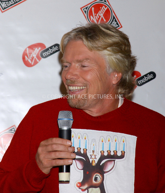 WWW.ACEPIXS.COM . . . . . ....NEW YORK, NOVEMBER 30, 2005....Sir Richard Branson at the Kick Off of the 2005 Chrismahanukwanzakah Holiday in Times Square.....Please byline: KRISTIN CALLAHAN - ACEPIXS.COM.. . . . . . ..Ace Pictures, Inc:  ..Philip Vaughan (212) 243-8787 or (646) 679 0430..e-mail: info@acepixs.com..web: http://www.acepixs.com