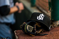 A Jackson Generals hat during a game between the Jackson Generals and Chattanooga Lookouts at AT&T Field on May 7, 2015 in Chattanooga, Tennessee. (Brace Hemmelgarn/Four Seam Images)