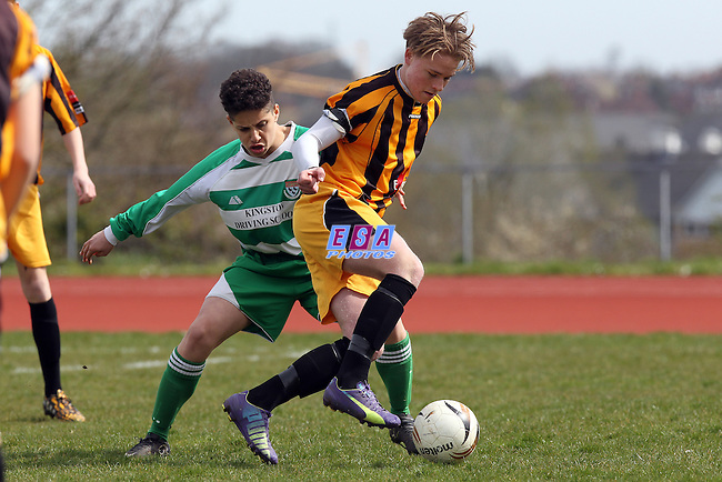 CANTERBURY YOUTH v FOLKESONE INVICTA<br /> KENT YOUTH LEAGUE U16 SOUTH SUNDAY 10TH APRIL 2016