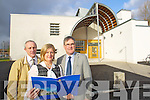 Richard Barrett, Teacher, Anne O'Callaghan, Principal and Tommy O'Donnell, Deputy Principal pictured outside the new extentsion at CBS the Green on Tuesday.
