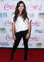 BEVERLY HILLS, CA, USA - AUGUST 09: Singer Rebecca Black arrives at the DigiTour and Candie's Official Teen Choice Awards 2014 Pre-Party held at The Gibson Showroom on August 9, 2014 in Beverly Hills, California, United States. (Photo by Xavier Collin/Celebrity Monitor)