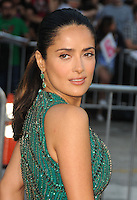 Salma Hayek at the Premiere of Universal Pictures' 'Savages' at Westwood Village on June 25, 2012 in Los Angeles, California. © mpi35/MediaPunch Inc. /*NORTEPHOTO.COM*<br />