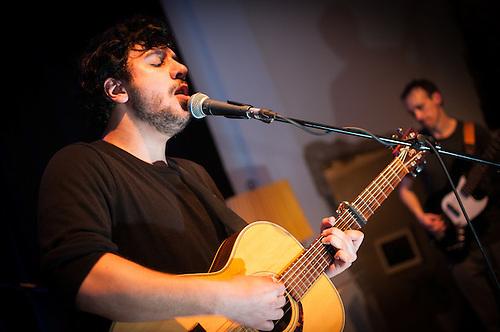 Yusuf Sahilli band playing at Pratchtwerk Berlin