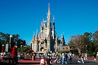 Cinderella's Castle,  Walt Disney World Theme Park, Orlando, Florida