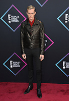 LOS ANGELES, CA. November 11, 2018: Luke Baines at the E! People's Choice Awards 2018 at Barker Hangar, Santa Monica Airport.<br /> Picture: Paul Smith/Featureflash