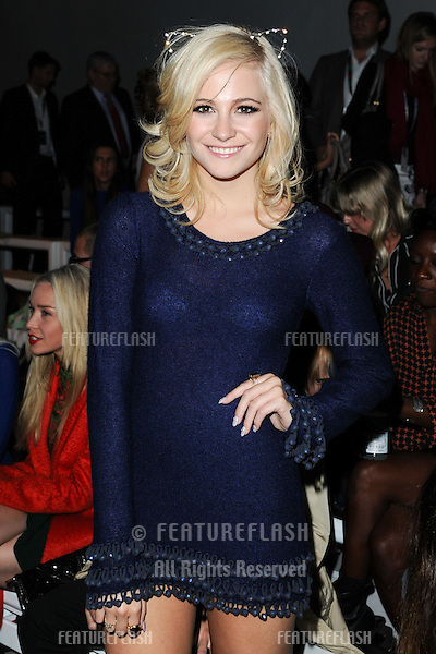 Pixie Lott at the Mark Fast catwalk show as part of London Fashion Week SS13, Somerset House, London. 17/09/2012 Picture by: Steve Vas / Featureflash