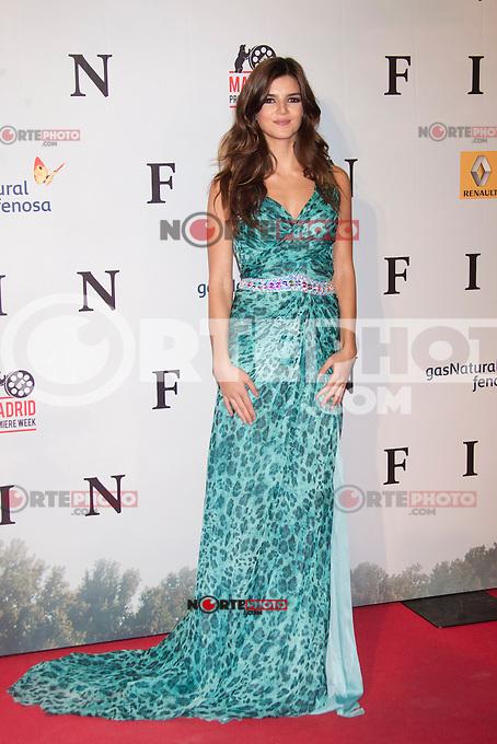Clara Lago attends 'FIN' Premiere at Callao Cinema in Madrid on november 20th 2012...Photo: Cesar Cebolla / ALFAQUI.. /Alter/NortePhoto