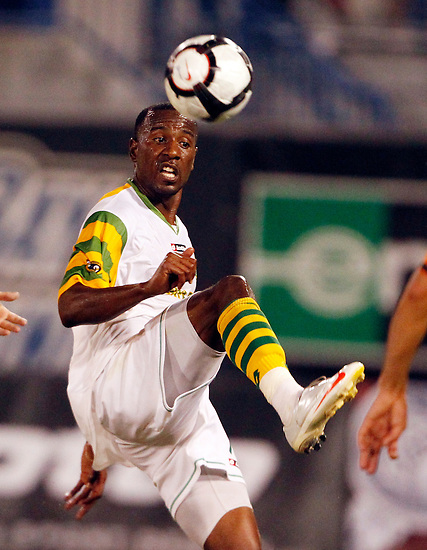 May 27, 2010; TAMPA, FLORIDA: FC Tampa Bay Rowdies Midfielder Kwame Adjeman-Pamboe #7 during a 3-1 victory over the Minnesota Stars at Steinbrenner Field in Tampa, Florida. Photo by Matt May/FC Tampa Bay Rowdies